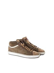 Santoni - sneakers alte allacciate