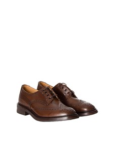 Tricker's - scarpa brogue in pelle