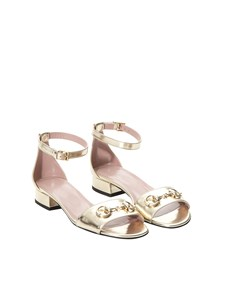 Gucci - LEATHER SANDALS