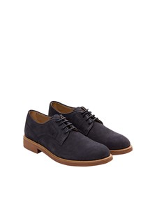 Tod's - Scarpa derby in pelle scamosciata