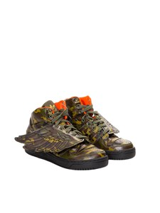 "Archivio Jeremy Scott Adidas - Sneakers ""Js Wings camo"""