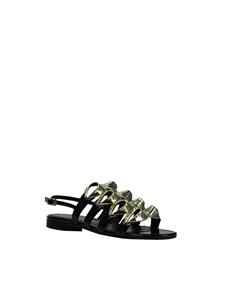 """LUISA TRATZI - """"Asterblack"""" sandals"""