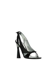 """LUISA TRATZI - """"Nightrose"""" sandals"""