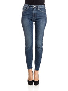 Cycle - 5-pocket cotton jeans