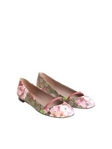Gucci - Monogram flat shoes