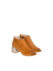 Mivida - Open toe boots