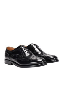 Church's - Leather Oxford shoes