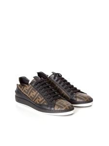 Fendi - sneakers stampa monogram