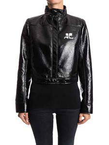 courrèges - Eco leather jacket