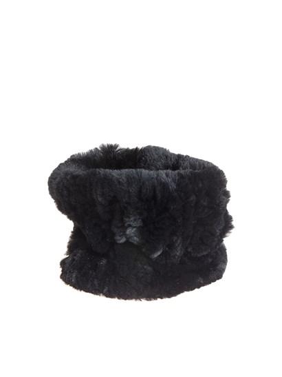 Black fur collar. - Yves Salomon - Fur collar