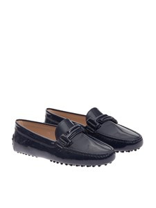 Tod's - Painted leather moccasins