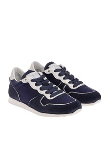 Tod'S Junior - Fabric and suede sneakers