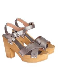 L'Autre Chose - Fabric sandals