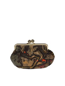 Deglupta - Ciliegio clutch bag