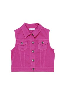 MSGM - Sleeveless jacket