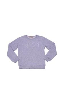 N°21 KIDS - Round neck sweatshirt
