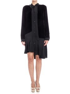 N° 21 - Silk and viscose dress