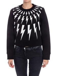 Neil Barrett - Viscose sweatshirt
