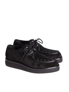 Valentino - Suede derby shoes