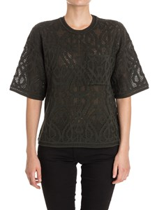 M Missoni - Cotton and tulle sweater
