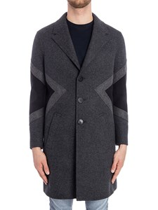 Neil Barrett - Wool blend coat