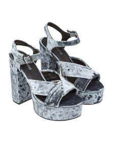 Jeffrey Campbell - Velvet sandals
