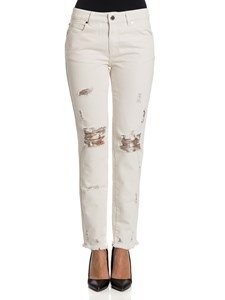 Ermanno by Ermanno Scervino - Cotton and viscose jeans