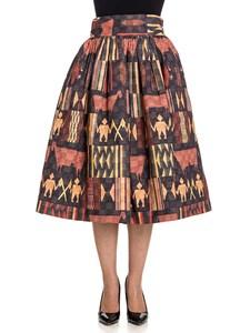 Stella Jean - Flared skirt