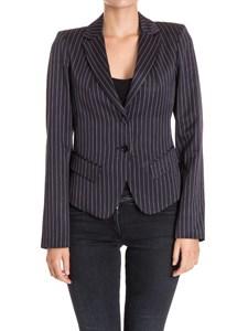 PATRIZIA PEPE - Pinstriped jacket