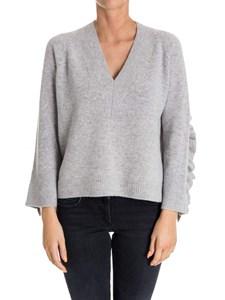 (nude) - V-neck sweater