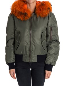 Forte Couture - Hooded bomber jacket