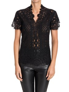 Ermanno Scervino - Embroidered tulle top