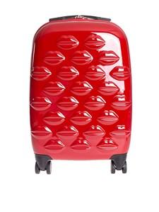 LULU GUINNESS - Lips Spinner Small trolley