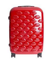 LULU GUINNESS - Lips Spinner medium trolley