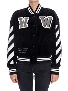 Off-White - Ribbed jacket