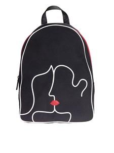 LULU GUINNESS - Kissing Lips backpack