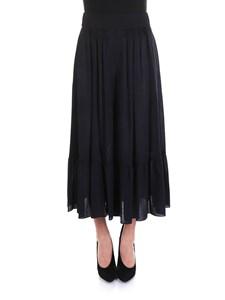 Chloé - Viscose and wool skirt