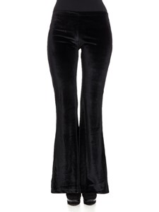 Black Coral - Flared trousers