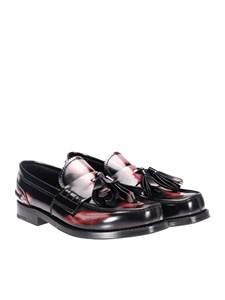 Prada - Leather loafers