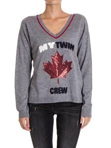 MY TWIN Twinset - Wool blend sweatshirt