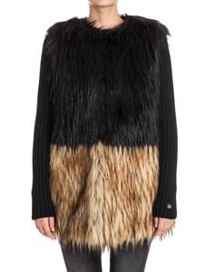 MY TWIN Twinset - Eco-fur jacket