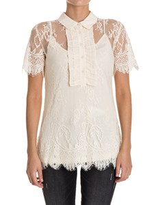 MY TWIN Twinset - Lace top