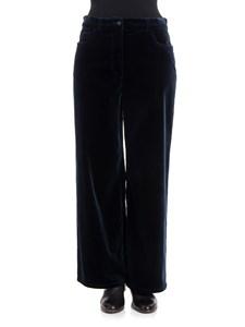 Alberta Ferretti - Velvet trousers