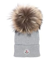 Moncler Jr - Wool cap
