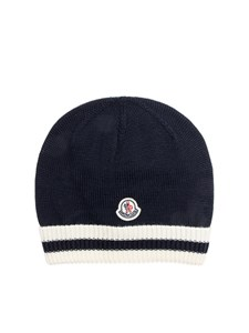 Moncler Jr - Virgin wool hat