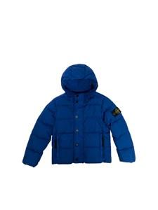 STONE ISLAND JUNIOR - Down jacket