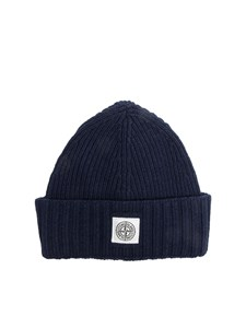 STONE ISLAND JUNIOR - Wool blend hat