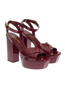 Saint Laurent Paris - Patent leather sandals
