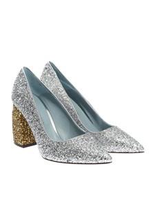 Chiara Ferragni - Glittered pumps