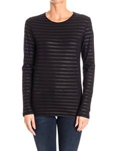 MAJESTIC FILATURES - Cotton and cashmere t-shirt